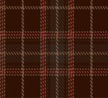 00404 Beanpole Brown Trial Tartan Sticker