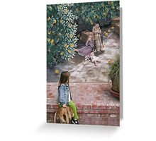 exeter, california Greeting Card