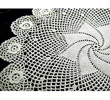Crochet Doily Photographic Print