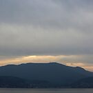 Mt Wellington Sunset by Anthony Woolley