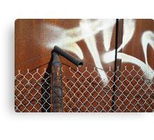 Layered Barriers Canvas Print