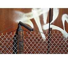 Layered Barriers Photographic Print