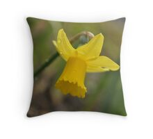 Even Flowers cry Throw Pillow