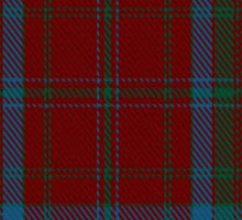00392 Brewer Tartan  Sticker