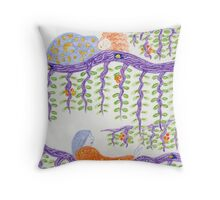 Let Sleeping Women Lie Cushion Throw Pillow