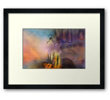 A Walk With Perception Framed Print