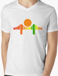 San Francisco from Death Proof Mens V-Neck T-Shirt