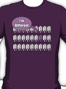 Portal 2 style Turret. I'm Different T-Shirt