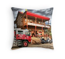 Ride of Fire. Throw Pillow