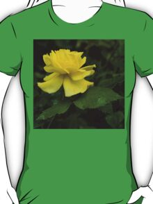 Yellow Rose Pearls T-Shirt