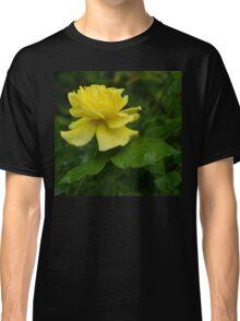 Yellow Rose Pearls Classic T-Shirt
