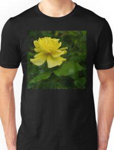 Yellow Rose Pearls Unisex T-Shirt