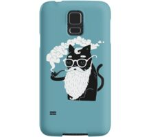 Whiskers And Pipe Samsung Galaxy Case/Skin
