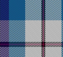 00388 Bradey Blue Dress Tartan Sticker