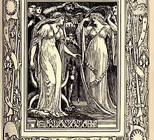 Spenser's Faerie queene A poem in six books with the fragment Mutabilitie Ed by Thomas J Wise, pictured by Walter Crane 1895 V5 63 - The Spousals of Faire Florimell by wetdryvac