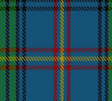 00387 Borders H.B. Tartan Sticker