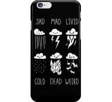 Know Your Weather iPhone Case/Skin