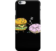 Cheeseburger Pranks Doughnut iPhone Case/Skin
