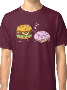 Cheeseburger Pranks Doughnut Classic T-Shirt