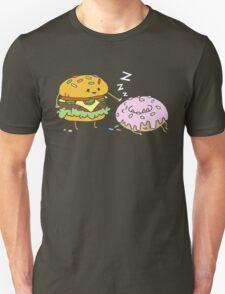 Cheeseburger Pranks Doughnut Unisex T-Shirt