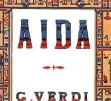 Aida  Sticker