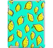 Limones de primavera iPad Case/Skin