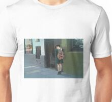 Texting One, Two,... Unisex T-Shirt