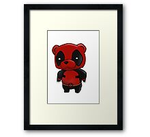 pandapool Framed Print