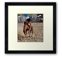 Top Ride Framed Print