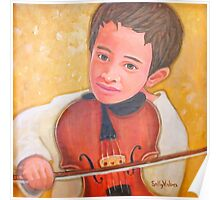 Zoltan Plays the Violin Poster