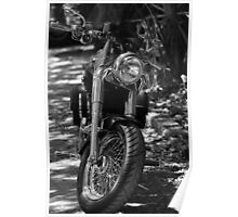 The Motorcycle Poster