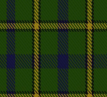 00378 Salvation Army Hunting Tartan  Sticker