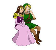 A Hero and His Princess Photographic Print