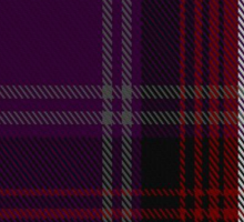 00371 Isle of Arran #2 Tartan  Sticker