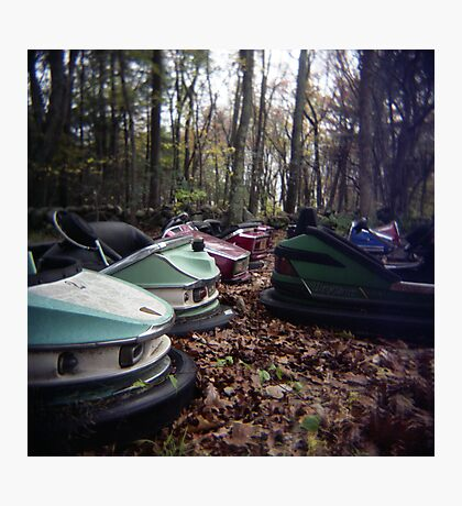 Enchanted Cars Photographic Print
