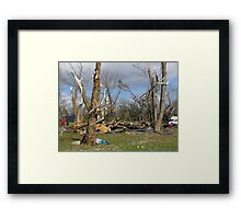 """""""Praise You in This Storm"""" Framed Print"""