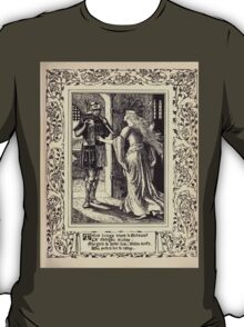 Spenser's Faerie queene A poem in six books with the fragment Mutabilitie Ed by Thomas J Wise, pictured by Walter Crane 1895 V5 129 - Talus Brings Newes to Britomart T-Shirt