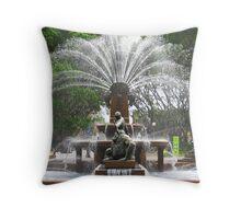 The Archibald Fountain Hyde Park Sydney Australia Throw Pillow