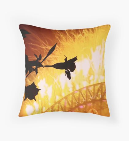 new years eve! Throw Pillow