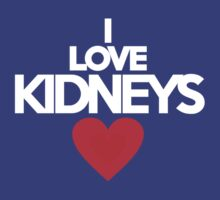 I love kidneys by onebaretree
