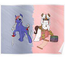 Final Fantasy II x My Little Pony Poster