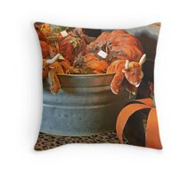 Cow country! Throw Pillow