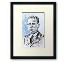 Arnaldo Filippi portrait-WWII Collection Framed Print