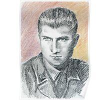 Franco Bolzoni portrait Poster