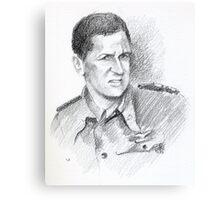 """Costantino Petrosellini """"Pedro"""" - portrait Canvas Print"""
