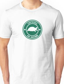 Tortoises are awesome (Green) Unisex T-Shirt