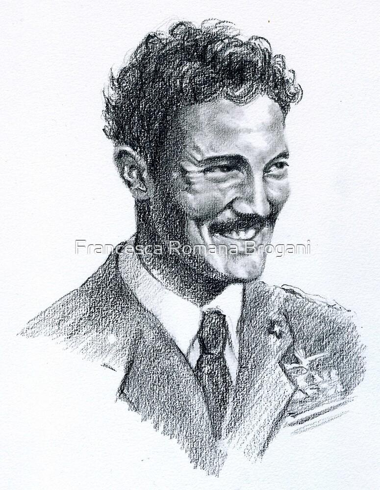 """"""" Il nemico sulle ali """" Portraits-Alessandro Setti by Francesca Romana Brogani"""
