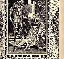Spenser's Faerie queene A poem in six books with the fragment Mutabilitie Ed by Thomas J Wise, pictured by Walter Crane 1895 V6 127 - The Hermit Heales Both Squire and Dame by wetdryvac