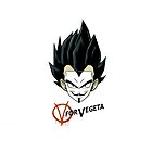 V for Vegeta Phone Cases by tinaodarby