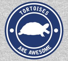 Tortoises are awesome (Blue) One Piece - Long Sleeve